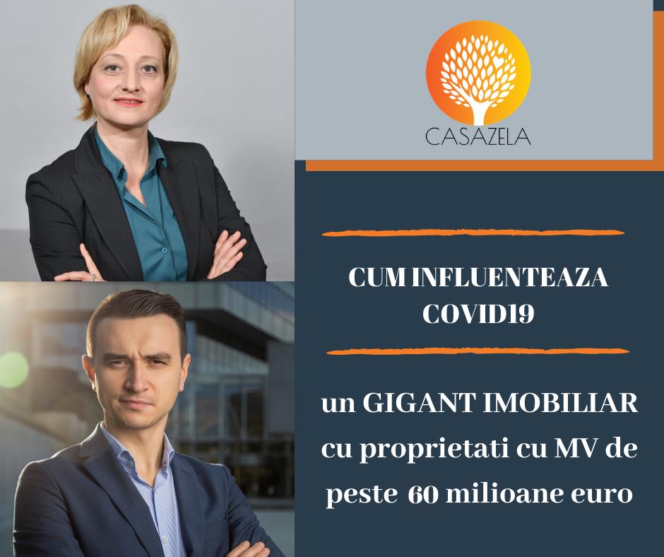 Episodul 12: Imobiliarele si Coronavirusul: Cum infuenteaza COVID19 si starea de urgenta un gigant imobiliar cu proprietati cu MV de peste 60 milioane euro
